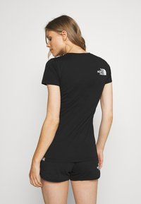 The North Face - RAINBOW TEE - T-shirts med print - black - 2