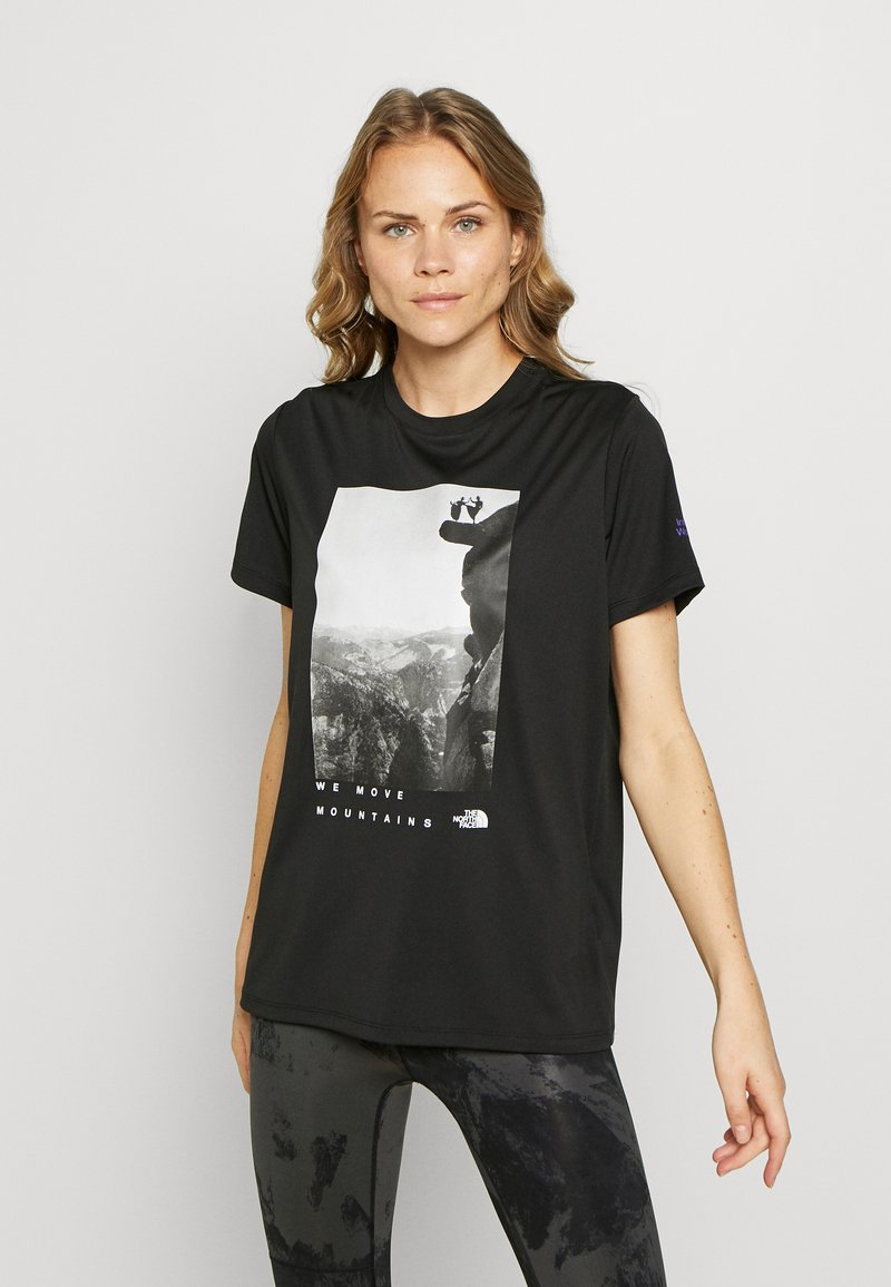The North Face - WOMAN DAY TEE - T-Shirt print - black