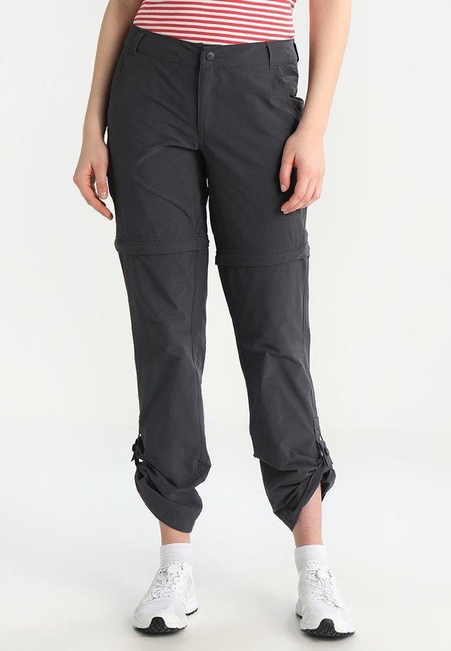 2-IN-1 EXPLORATION - Spodnie materiałowe - asphalt grey
