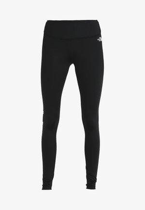 GRAPHIC - Leggings - tnf black