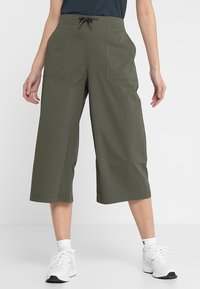The North Face - SIGHTSEER CULOTTE  - Friluftsbukser - new taupe green - 0