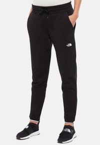The North Face - W FINE PANT - Tracksuit bottoms - black - 0