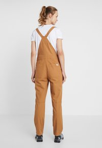 The North Face - MOESER OVERALL - Kalhoty - chipmunk brown - 2