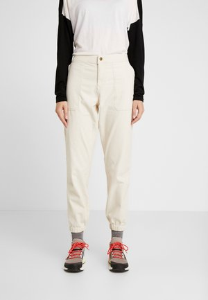 MOESER JOGGER - Trousers - vintage white