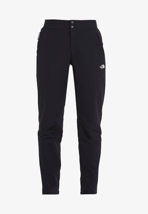 QUEST PANT SLIM - Friluftsbyxor - black