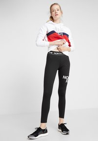 The North Face - FLEX - Legginsy - black/white - 1