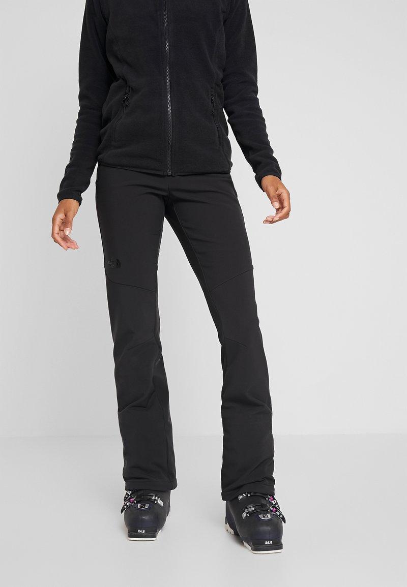 The North Face - SNOGA PANT - Zimní kalhoty - black