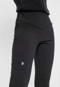 The North Face - SNOGA PANT - Zimní kalhoty - black - 4