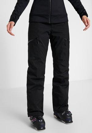 LENADO PANT - Zimní kalhoty - black