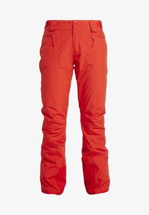 PRESENA PANT - Zimní kalhoty - fiery red