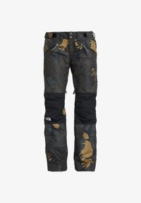 The North Face - ABOUTADAY PANT - Snow pants - new taupe green/black - 5