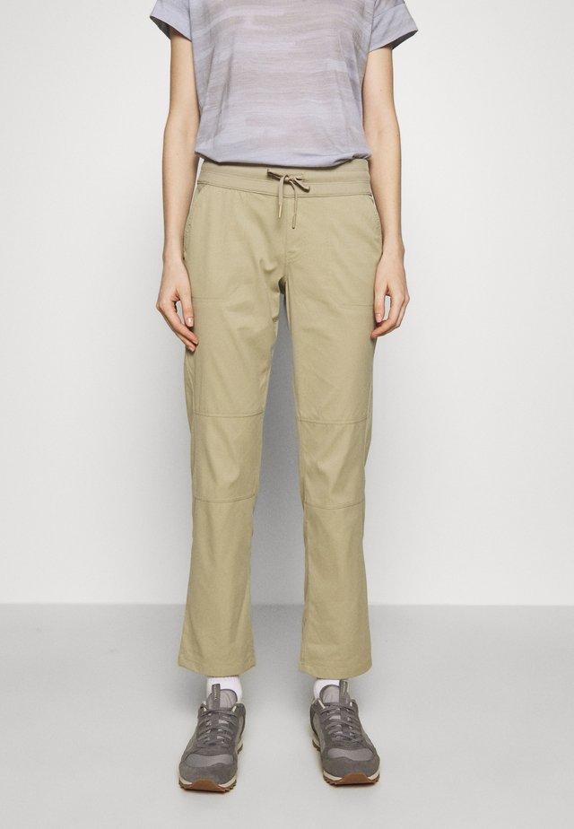 WOMEN'S APHRODITE PANT - Długie spodnie trekkingowe - twill beige