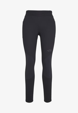WOMEN'S HYBRID HIKE TIGHT - Tights - black