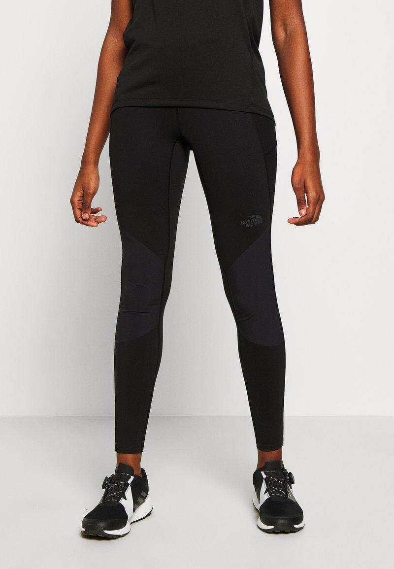 The North Face - WOMEN'S HYBRID HIKE TIGHT - Leggings - black