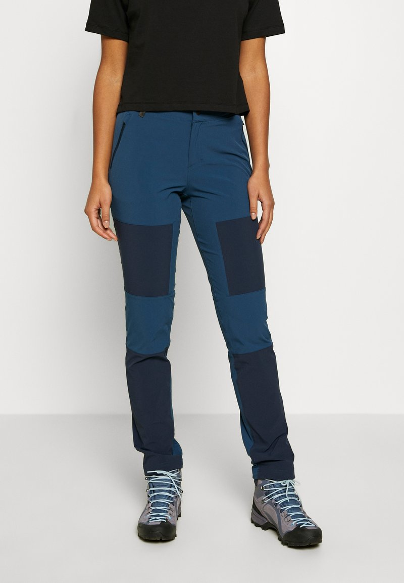 The North Face - WOMEN'S LIGHTNING TECH PANT - Pantalones montañeros largos - blue wing teal/urban navy