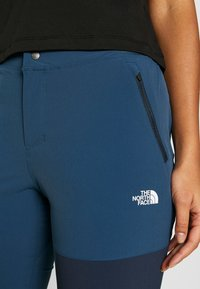 The North Face - WOMEN'S LIGHTNING TECH PANT - Pantalones montañeros largos - blue wing teal/urban navy - 5