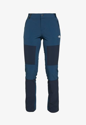 WOMEN'S LIGHTNING TECH PANT - Długie spodnie trekkingowe - blue wing teal/urban navy