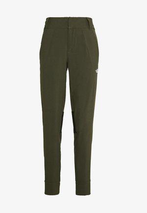 WOMEN HIKESTELLER PANT - Pantalons outdoor - new taupe green