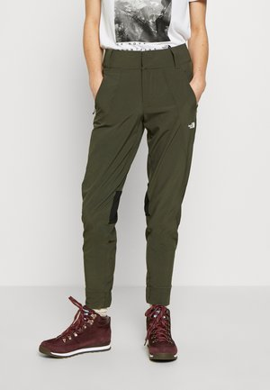 WOMEN HIKESTELLER PANT - Outdoor-Hose - new taupe green