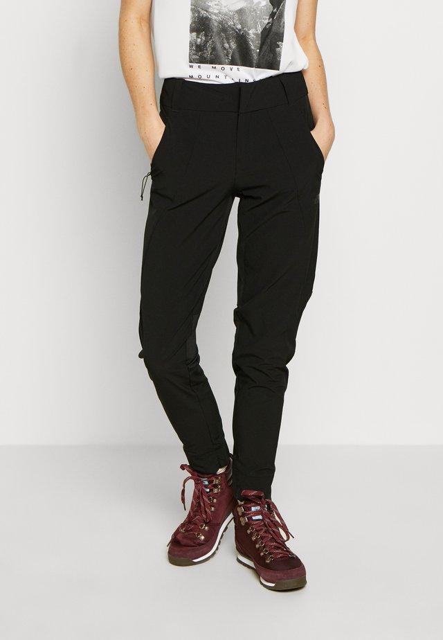WOMEN HIKESTELLER PANT - Ulkohousut - black
