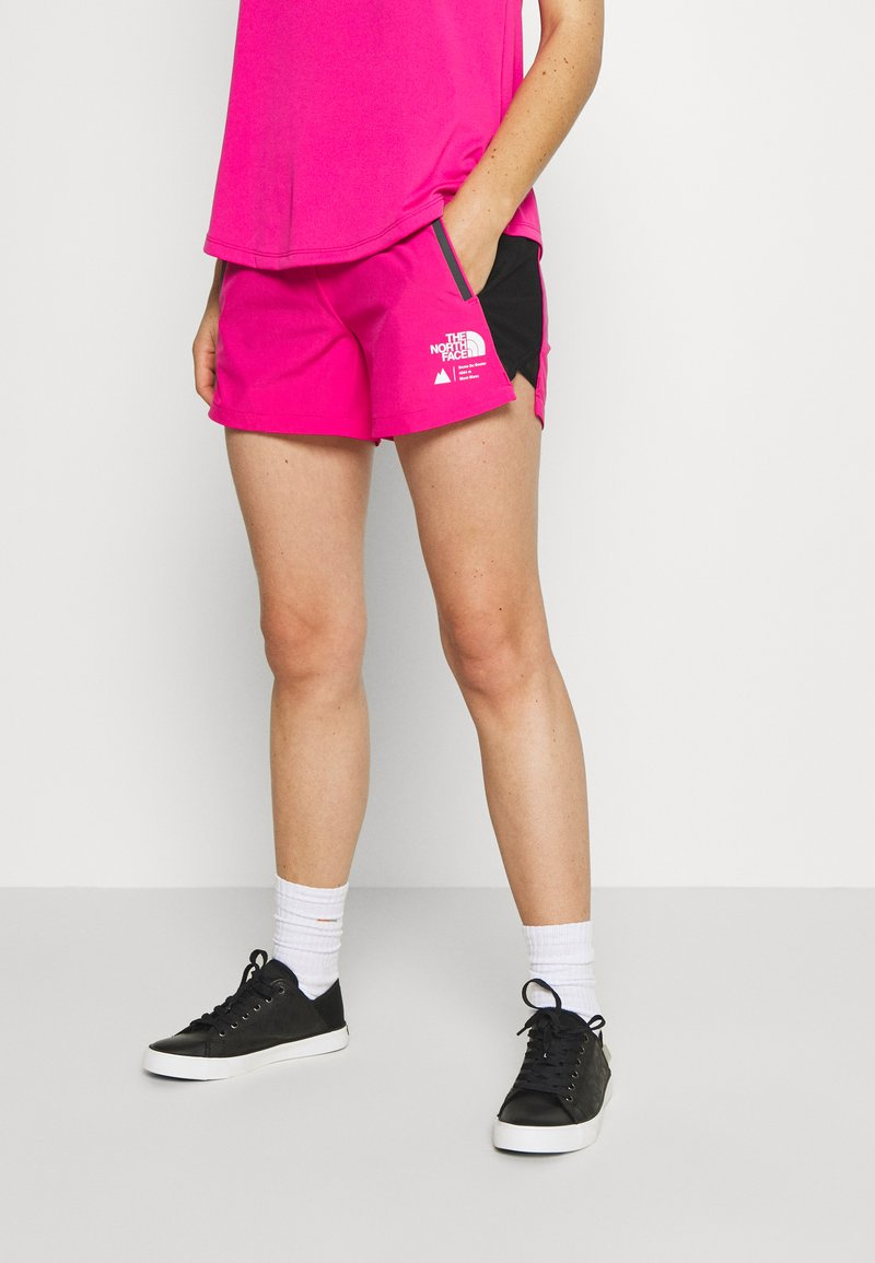 The North Face - WOMENS GLACIER - Outdoor Shorts - mr. pink