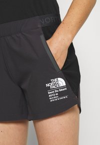 The North Face - WOMENS GLACIER - Outdoorshorts - weathered black - 4