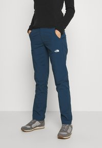 The North Face - WOMENS QUEST PANT - Tygbyxor - blue wing teal - 0