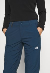 The North Face - WOMENS QUEST PANT - Tygbyxor - blue wing teal - 4