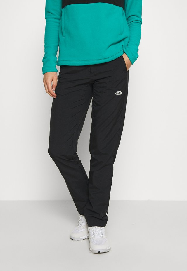 WOMENS QUEST PANT - Pantalones - black