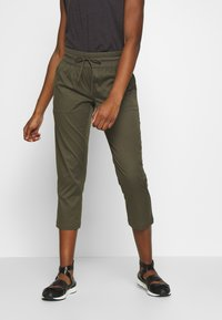 The North Face - WOMEN'S APHRODITE CAPRI - Friluftsbukser - new taupe green - 0
