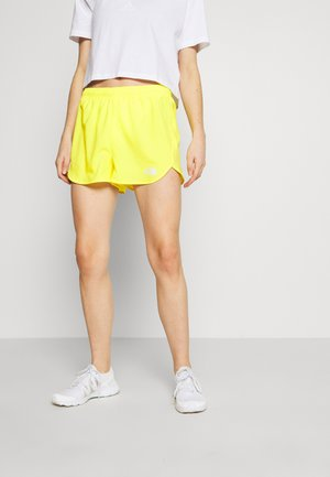 WOMEN'S ACTIVE TRAIL RUN SHORT - Krótkie spodenki sportowe - lemon