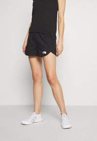 The North Face - WOMEN'S ACTIVE TRAIL RUN SHORT - Urheilushortsit - black - 0