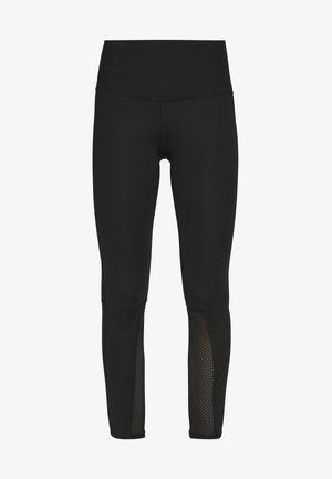 ACTIVE TRAIL MESH HIGH RISE TIGHT - Punčochy - black