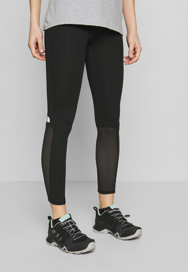 ACTIVE TRAIL MESH HIGH RISE TIGHT - Leggings - black