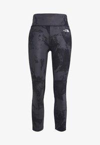 The North Face - WOMENS VARUNA CROP - Leggings - asphlt grey - 4