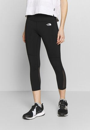 WOMENS VARUNA CROP - Leggings - black
