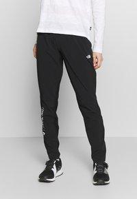 The North Face - WOMENS VARUNA PANT - Spodnie materiałowe - black - 0