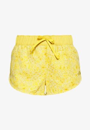 WOMENS CLASS MINI - Krótkie spodenki sportowe - bamboo yellow