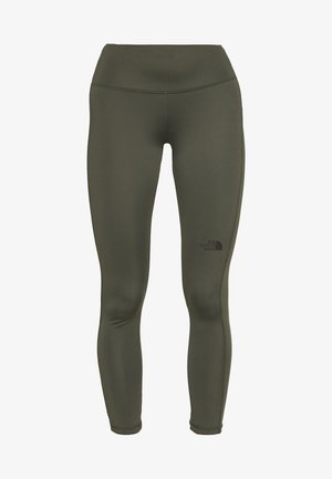 WOMENS NEW FLEX HIGH RISE 7/8 - Tights - new taupe green