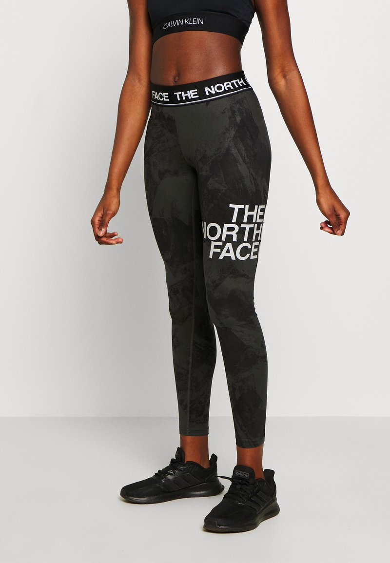 The North Face - WOMENS FLEX MID RISE - Tights - asphalt grey