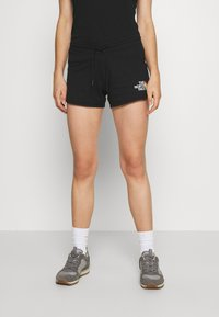 The North Face - RAINBOW SHORT - Sports shorts - black graphic - 0