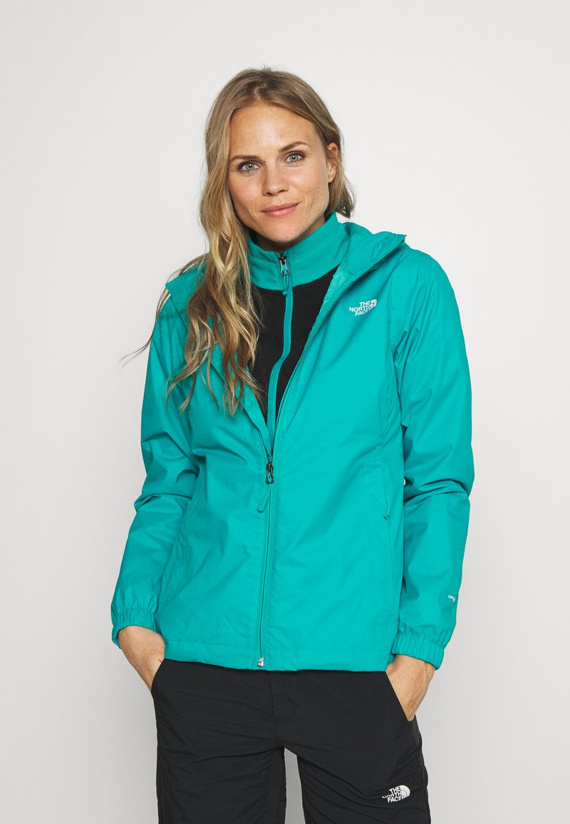 The North Face - QUEST - Kurtka hardshell - jaiden green