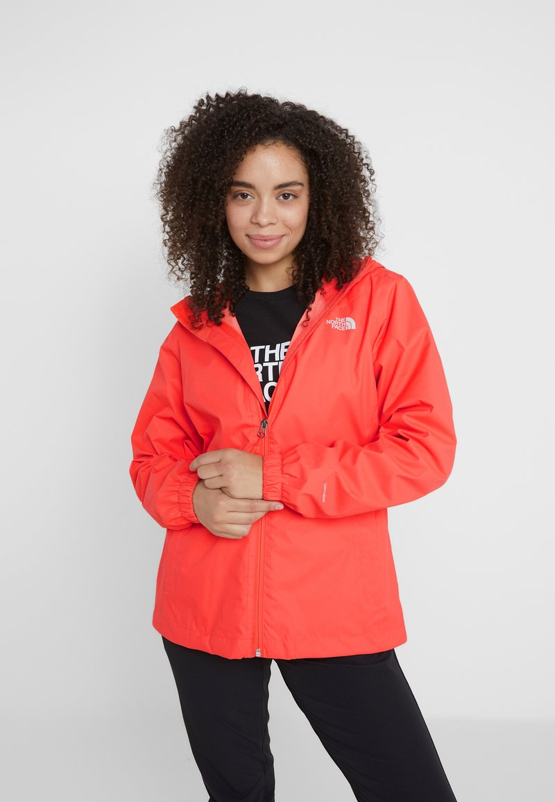 The North Face - QUEST  - Kurtka hardshell - radiant orange