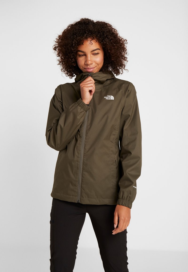 The North Face - QUEST JACKET - Hardshelljacke - new taupe green