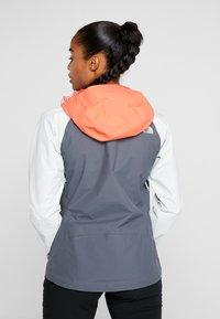 The North Face - STRATOS JACKET - Hardshell jacket - vanadis grey/tin grey/radiant orange - 2