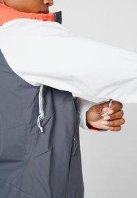 The North Face - STRATOS JACKET - Hardshell jacket - vanadis grey/tin grey/radiant orange - 4