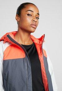The North Face - STRATOS JACKET - Hardshell jacket - vanadis grey/tin grey/radiant orange - 3