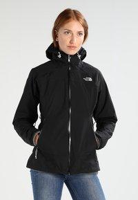 The North Face - STRATOS JACKET - Hardshell jacket - black - 0