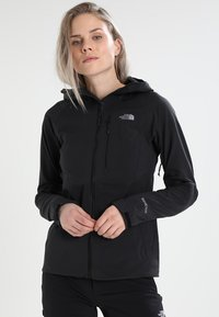 The North Face - FIRE BRICK  - Impermeable - black - 0