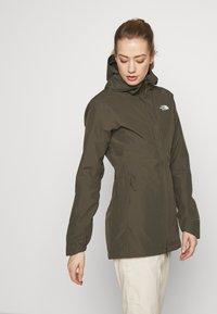 The North Face - WOMENS HIKESTELLER JACKET - Hardshell jacket - new taupe green - 0